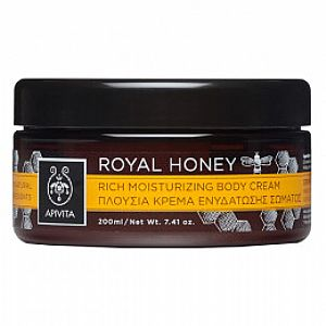 APIVITA ROYAL HONEY Rich Moisturizing Body Cream 200ml
