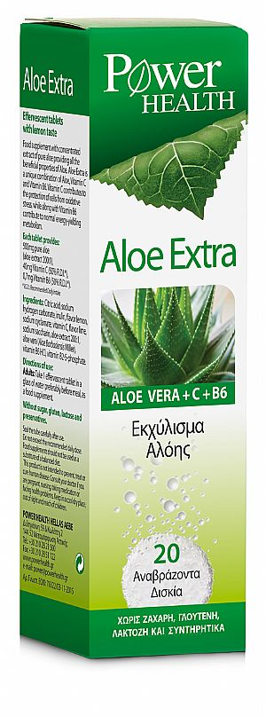 POWER HEALTH ALOE EXTRA 20eff.tabs