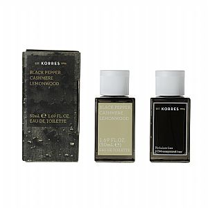 KORRES Ανδρικό 'ρωμα Black Pepper, Cashmere & Lemonwood 50ml
