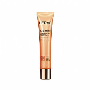 LIERAC SUNISSIME Energizing Protective Anti-Aging Fluid Face & Decollete SPF15 40ml