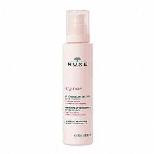 NUXE Very Rose Creamy Make-up Remover Milk - Κρεμώδες γαλάκτωμα ντεμακιγιάζ 200ml
