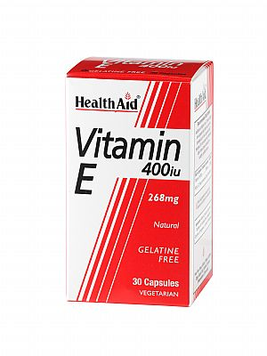 HEALTH AID Vitamin E 400iu 30tbs