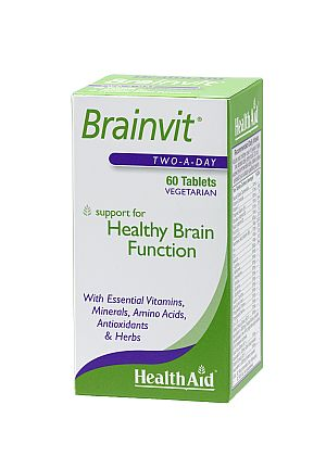 HEALTH AID Brainvit Healthy Brain Function 60tbs